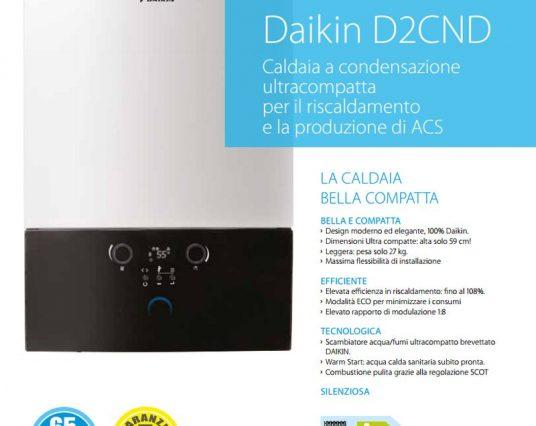Caldaia D2C DAIKIN