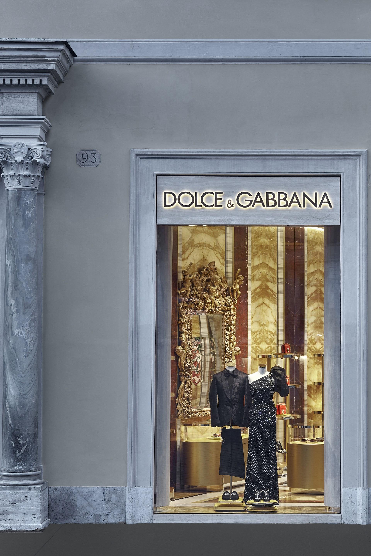 negozio dolce e gabbana roma