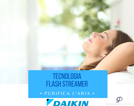Daikin Flash Streamer: aria più pulita