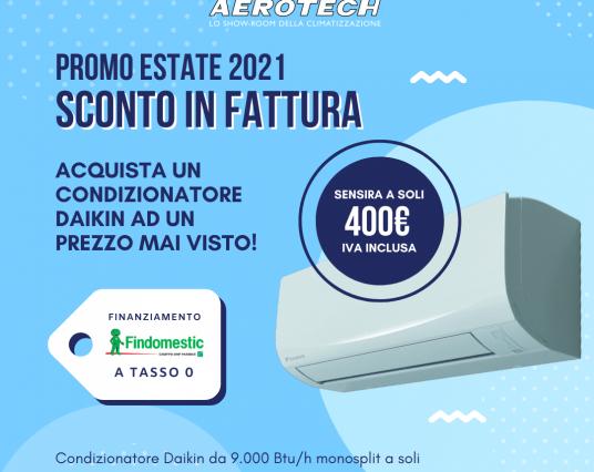 Condizionatori Daikin a metà prezzo: approfitta dello sconto in fattura
